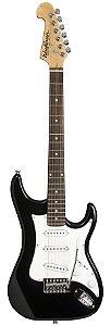 Guitarra S1B Preta Headstock Invertido S/s/s - Washburn