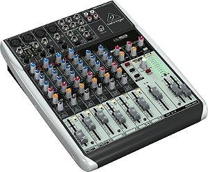 Mixer com 12 canais BiVolt - Q1204USB - Behringer