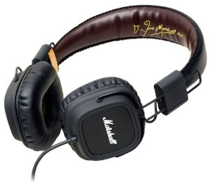Fone de ouvido Marshall Major FX Black - Marshall