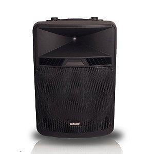 Caixa acustica injetada 600W BiVolt LXX-18A Powerful -Lexsen