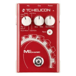 PEDAL PARA VOZ MIC MECHANIC 2 - TC HELICON