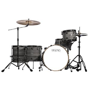Bateria com 5 pecas - Cor cinza - One Series Gray - Legend