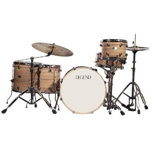 Bateria com 5 pecas - Cor NOGUEIRA One Series Gray - Legend