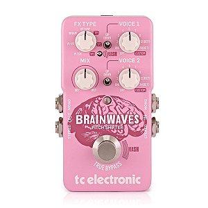 Brainwaves Pitch Shifter - Pedal processador de efeitos - TC Eletronics