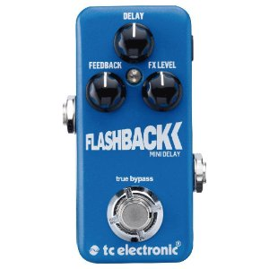 PEDAL FLASHBACK MINI DELAY - TC ELECTRONIC