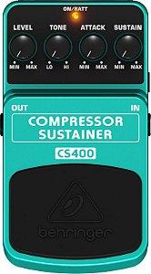Pedal para guitarra e contra-baixo - CS400 - Behringer