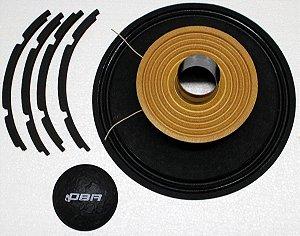 Kit de reparo para alto falante CV12 - RK-CV12 -DBR