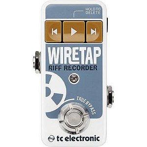 Processador de efeitos WIRETAP RIFF RECORDER - TC ELECTRONIC