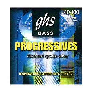 L8000 - ENC BAIXO 4C BASS PROGRESSIVES ESC LONGA 040/100 - GHS