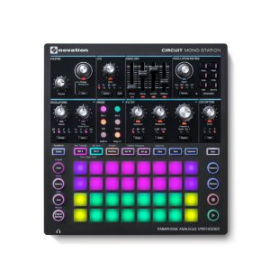 Sintetizador MIDI USB - CIRCUIT MONO STATION - Novation