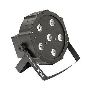 Independence 6 - PAR LED 6 X 10W - 4 EM 1 - PLS