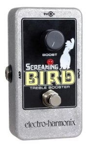 PEDAL ELECTRO HARMONIX EHX SCREAMING BIRD BOOSTER - NYC USA