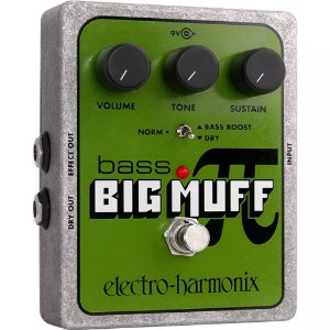 PEDAL ELECTRO HARMONIX EHX BASS BIG MUFF PI DISTORTION