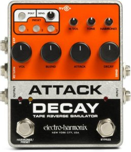 Pedal Electro Harmonix Attack Decay Tape Reverse EHX