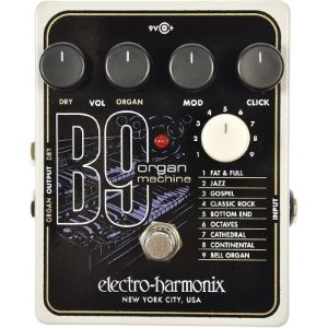 Pedal Electro Harmonix B9 Organ Machine Nyc Usa EHX