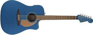 VIOLAO FENDER REDONDO PLAYER - 010 - BELMONT BLUE