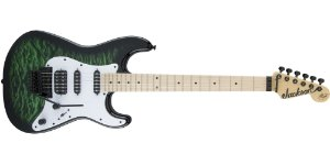 GUITARRA JACKSON ADRIAN SMITH SAN DIMAS TRANSPARENT GREEN