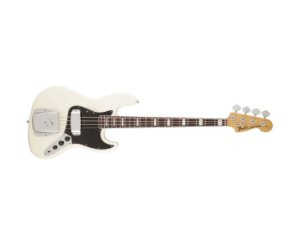 CONTRABAIXO FENDER JAZZ BASS AMERICAN VINTAGE OLYMPIC WHITE