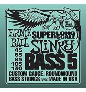 ENCORDOAMENTO BAIXO ERNIE BALL 45 105 SLINKY BASS LONG SCALE