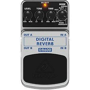 PEDAL PARA GUITARRA BEHRINGER DIGITAL REVERB DR600