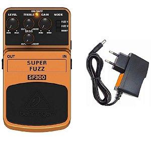 PEDAL P GUITARRA BEHRINGER SF300 - SUPER FUZZ DISTORTION