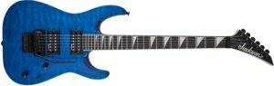 GUITARRA JACKSON DINKY ARCH TOP JS32Q TRANSPARENT BLUE FLOYD