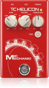 PEDAL PARA VOZ TC HELICON MIC MECHANIC 2