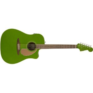 VIOLAO FENDER REDONDO PLAYER - 019 - ELECTRIC JADE