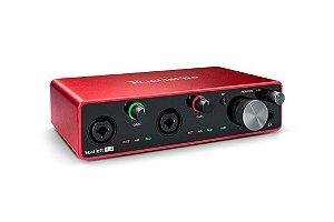 Interface de audio - SCARLETT 4I4 - FOCUSRITE