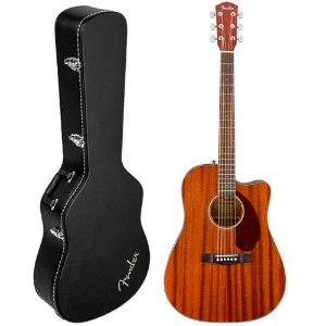 VIOLÃO FENDER CD140 DREADNOUGHT COM CASE ALL-MAHOGANY