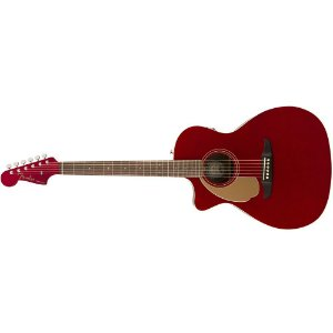 VIOLAO FENDER  NEWPORTER PLAYER CANDY APPLE RED - CANHOTO