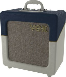 COMBO VOX AC4C1-TV-BC LTD EDITION - BLUE AND CREAM