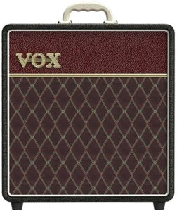 COMBO VOX AC4C1-12 - CL - CLASSIC BLACK AND MAROON TWO TONE