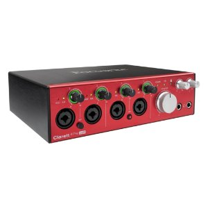 INTERFACE DE ÁUDIO FOCUSRITE CLARETT USB-C 4PRE