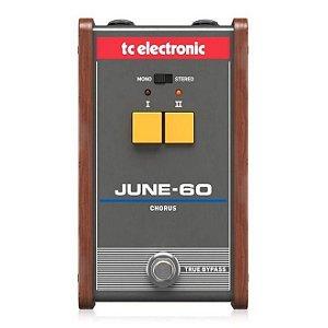 PEDAL PARA GUITARRA TC ELECTRONIC JUNE-60 CHORUS VINTAGE