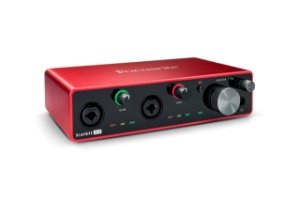 INTERFACE DE AUDIO FOCUSRITE 4I4 3 GERAÇÃO