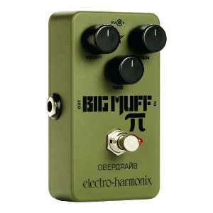 PEDAL ELECTRO HARMONIX GREEN RUSSIAN BIG MUFF PI DISTORTION