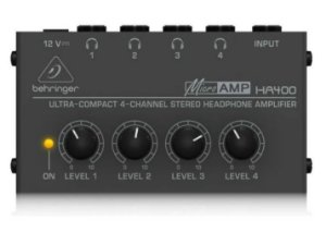 POWERPLAY AMPLIFICADOR DE FONE BEHRINGER HA400