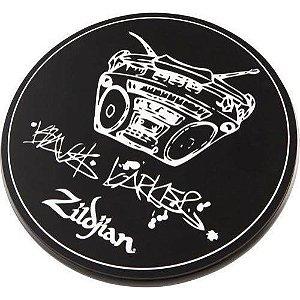 """PAD PARA TREINO PRACTICE PAD ZILDJIAN TRAVIS BARKER 06"""""""
