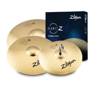KIT DE PRATOS ZILDJIAN PLANET Z COMPLETE PACK - ZP4PK