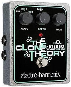 PEDAL ELECTRO-HARMONIX STEREO CLONE THEORY  - MCLONETHEORY