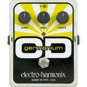 PEDAL ELECTRO-HARMONIX GERMANIUM OD OVERDRIVE