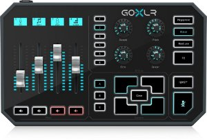 PROCESSADOR VOCAL GO XLR TC HELICON STREAMING MIXER 4 CANAIS