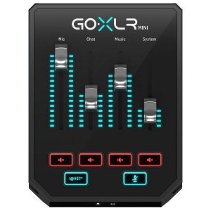 PROCESSADOR VOCAL STREAMING MIXER GO XLR MINI TC HELICON
