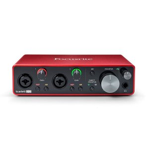 INTERFACE DE AUDIO FOCUSRITE 2I2 3 GERAÇÃO