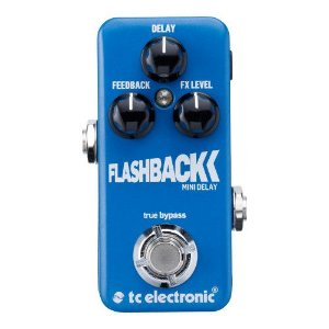 PEDAL PARA GUITARRA TC ELECTRONIC - FLASHBACK MINI DELAY