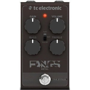 PEDAL PARA GUITARRA TC ELECTRONIC - FANGS METAL DISTORTION