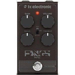 PEDAL PARA GUITARRA TC ELECTRONIC - FANGS METAL DISTORTION