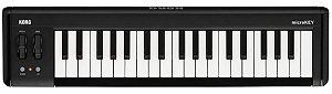 TECLADO CONTROLADOR KORG MIDI-USB MICROKEY2 - 37