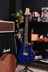 GUITARRA PRS CUSTOM 24 SE 35TH ANNIVERSARY-FADED BLUE BURST